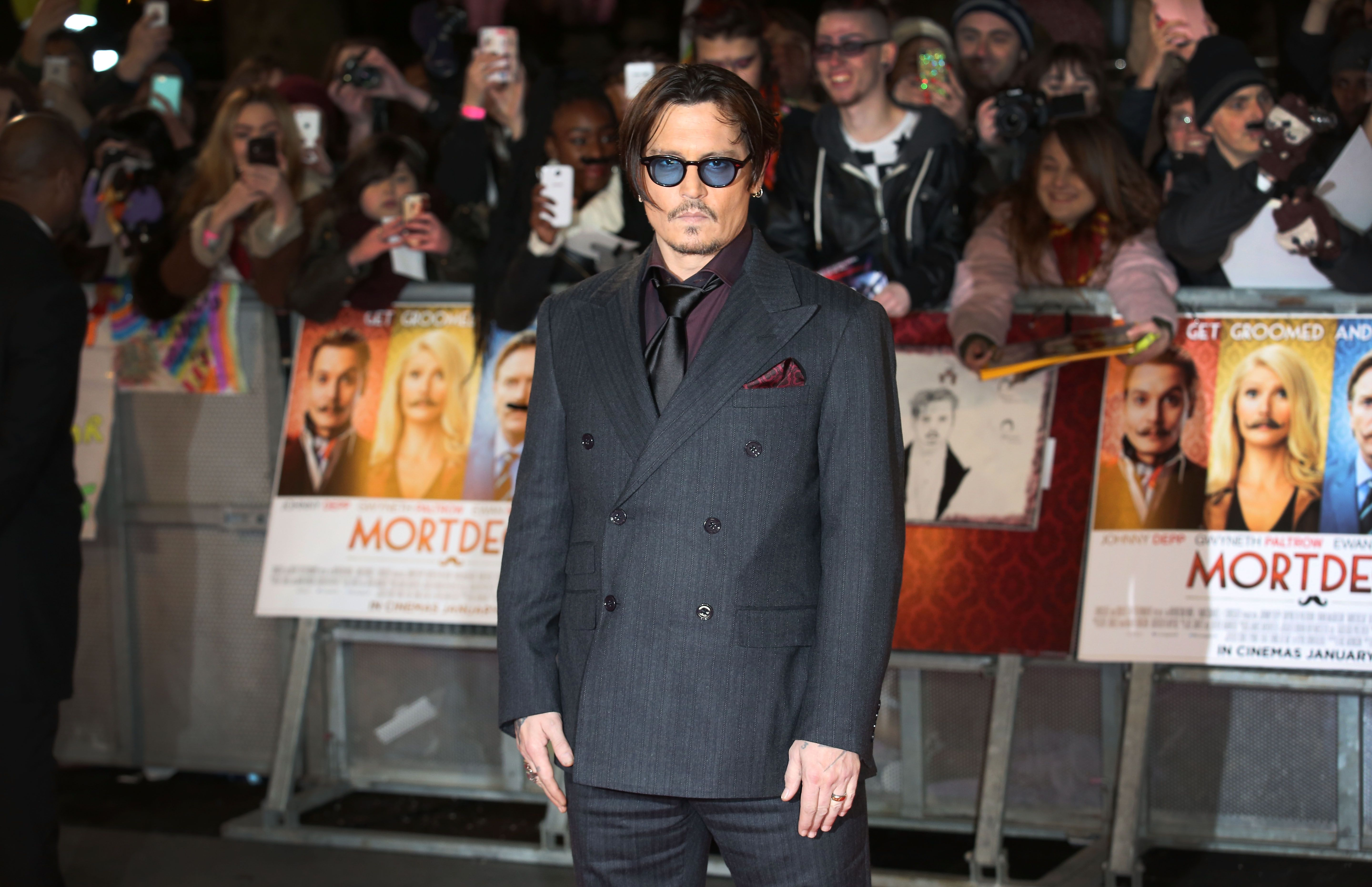 Hollywood star Johnny Depp / Getty Images