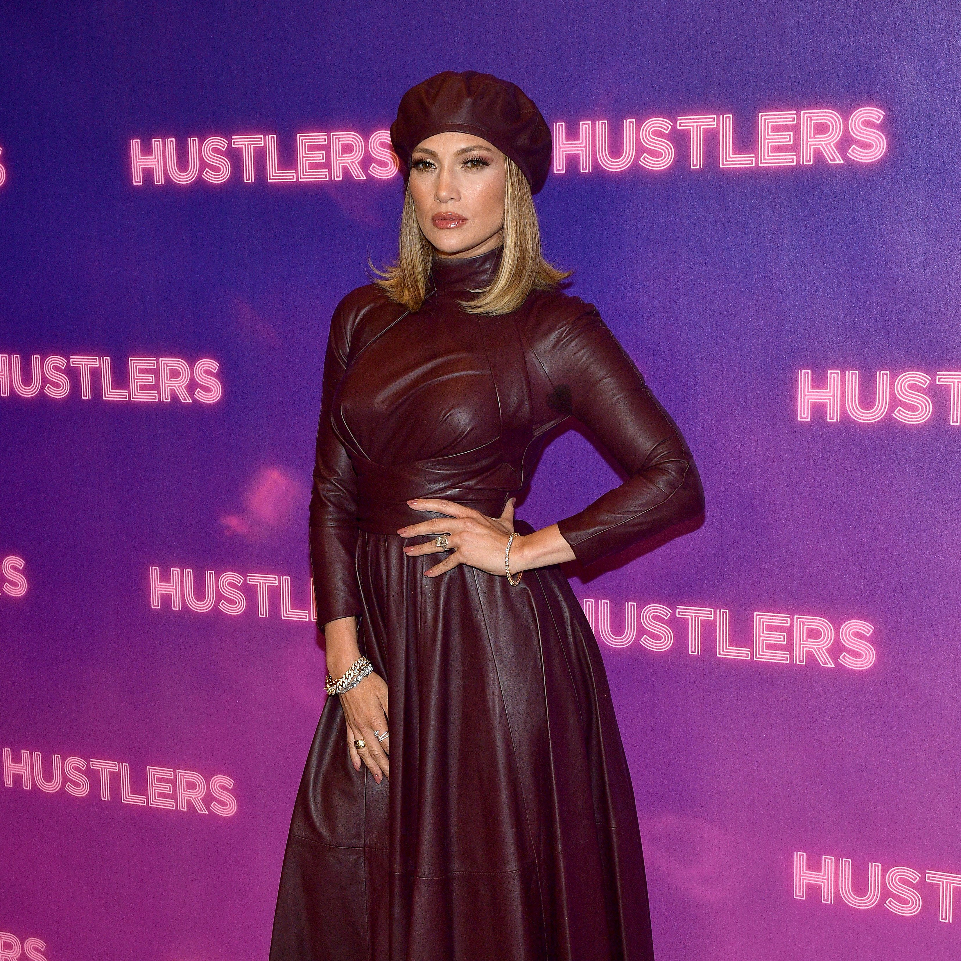Image Credit: Getty Images / Jennifer Lopez on the red carpet for her new movie, Hustlers.