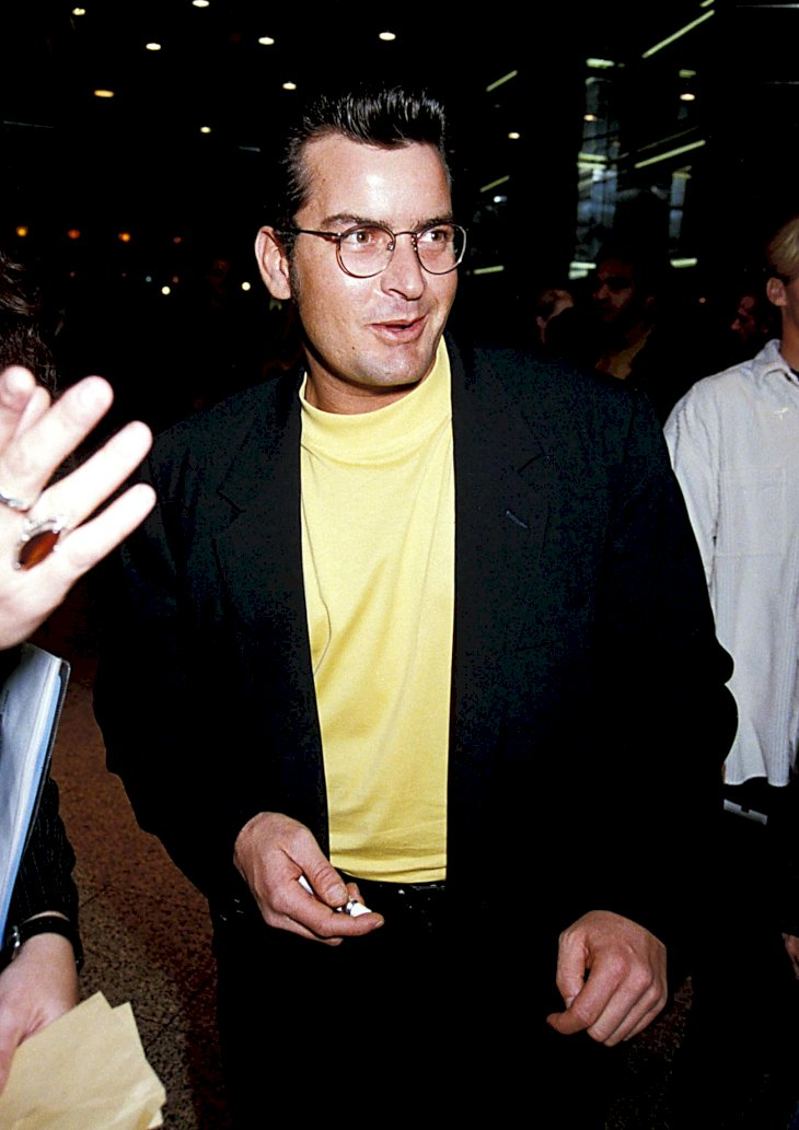 Image Credit: Getty Images / Charlie Sheen in public.