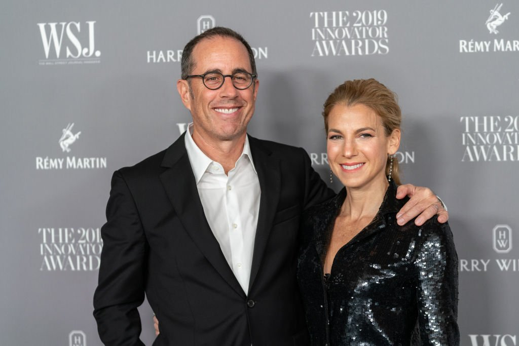 Image Source: Getty Images/WireImage/Mark Sagliocco | Jerry and Jessica at the WSJ Mag 2019 Innovator Awards