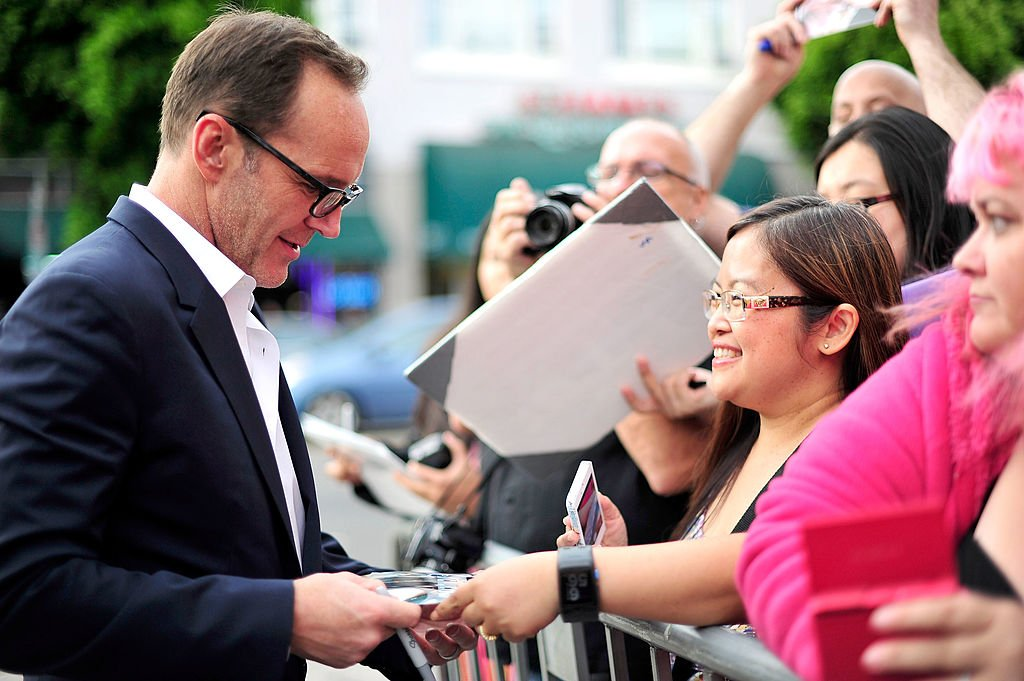 Image Credits: Getty Images / Jerod Harris | Actor Clark Gregg arrives at the Los Angeles Premiere of 'Trust Me' at the Egyptian Theatre on May 22, 2014 in Hollywood, California.