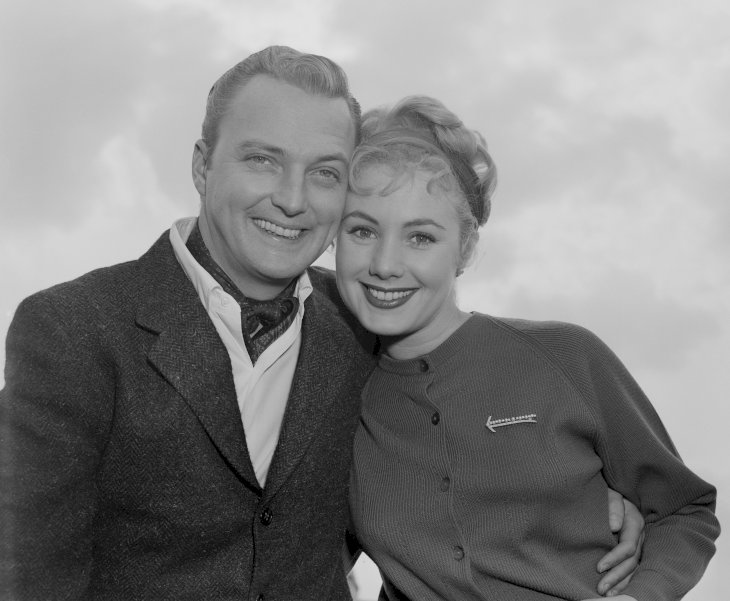 Image Credit: Getty Images / Shirley Jones with her first husband, Jack Cassidy.