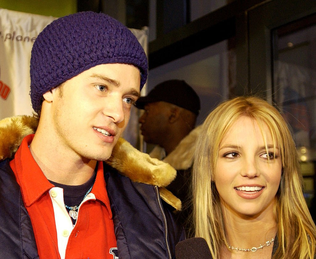 Image Credit: Getty Images / Justin Timberlake and Britney Spears during Super Bowl XXXVI - Britney Spears & Justin Timberlake Host Super Bowl Fundraiser at Planet Hollywood Times Square at Planet Hollywood Times Square in New York City.