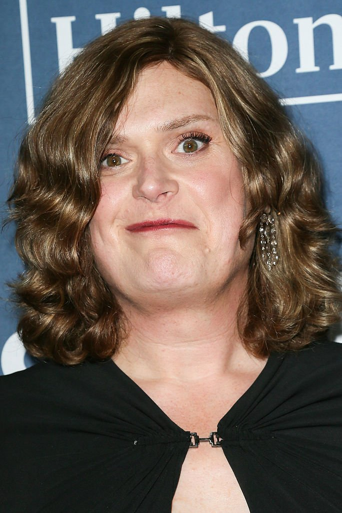 Image Credits: Getty Images / David Livingston | Writer/Director Lilly Wachowski arrives at the 27th Annual GLAAD Media Awards at The Beverly Hilton Hotel on April 2, 2016 in Beverly Hills, California.