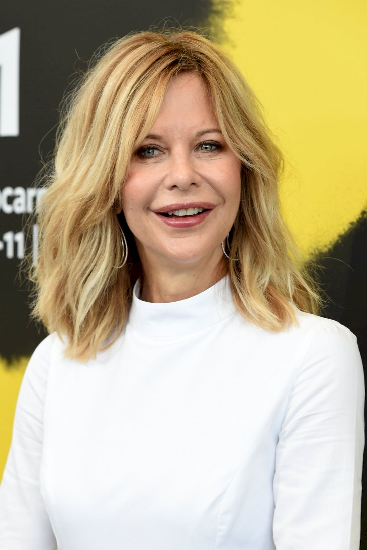 Image Credit: Getty Images / Meg Ryan on the red carpet.