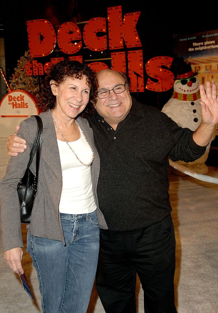 "Image Source:Getty Images/Rhea Perlman and Danny DeVito during ""Deck The Halls"" Los Angeles Premiere - Arrivals at Grauman's Chinese Theater in Hollywood, California, United States"