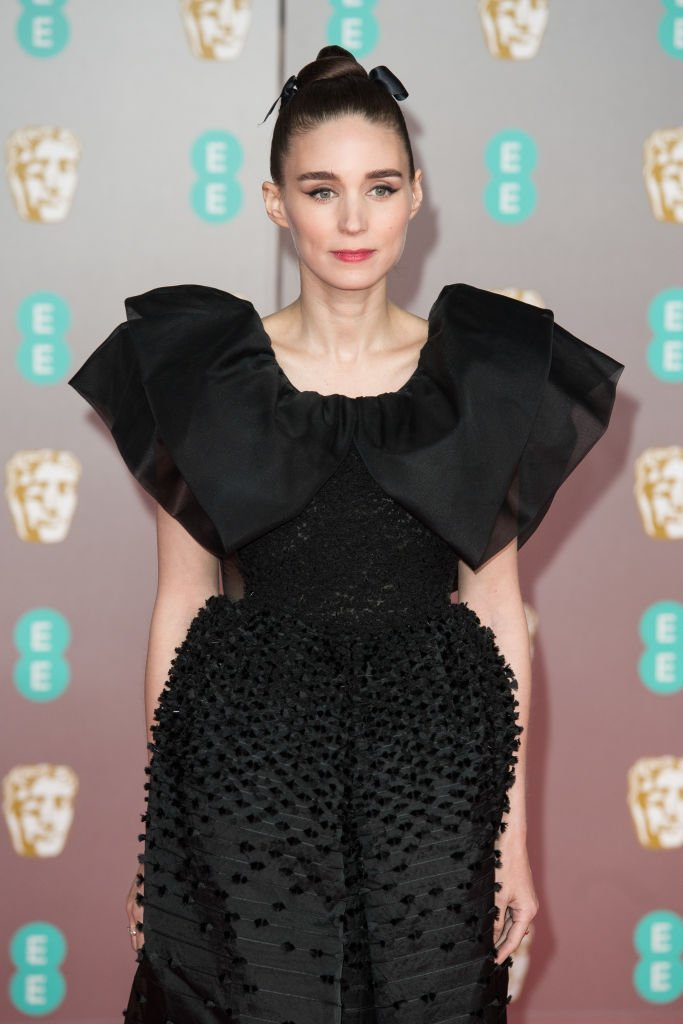 Image Source: Getty Images/Jeff Spice/Rooney Mara attends the EE British Academy Film Awards 2020 at Royal Albert Hall on February 02, 2020 in London, England.