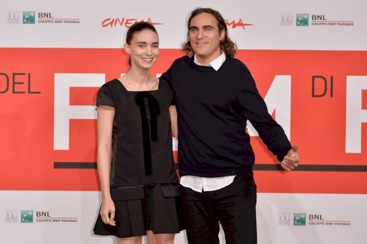 Joaquin Phoenix and Rooney Mara/Photo:Getty Images