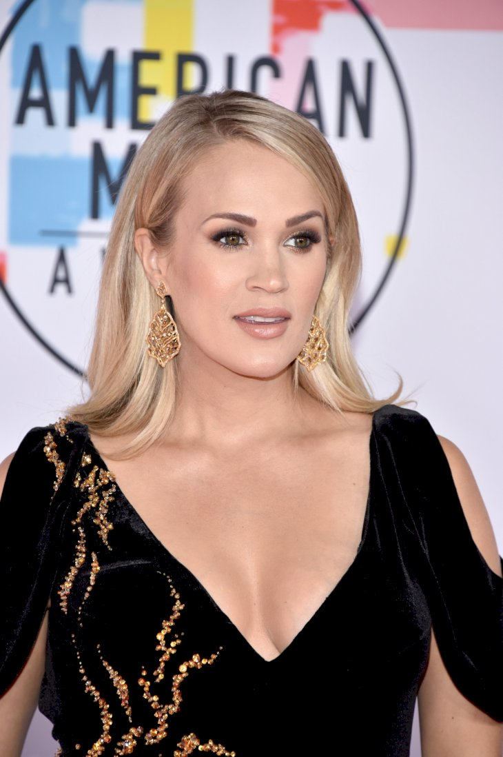 Image Credit: Getty Images/FilmMagic/Jon Kopaloff | Carrie Underwood at the American Music Awards