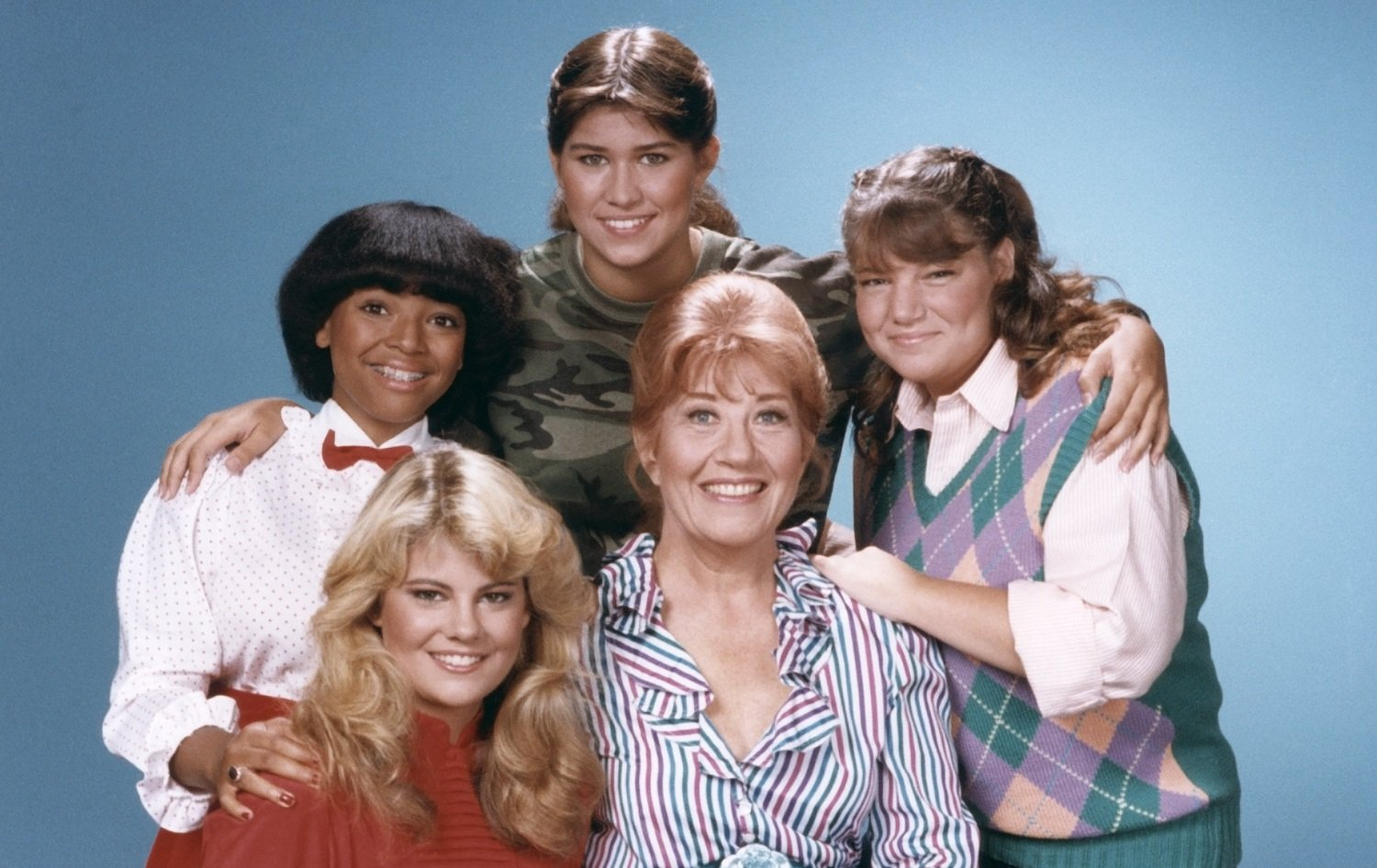 The Cast Of The Facts Of Life, Then And Now