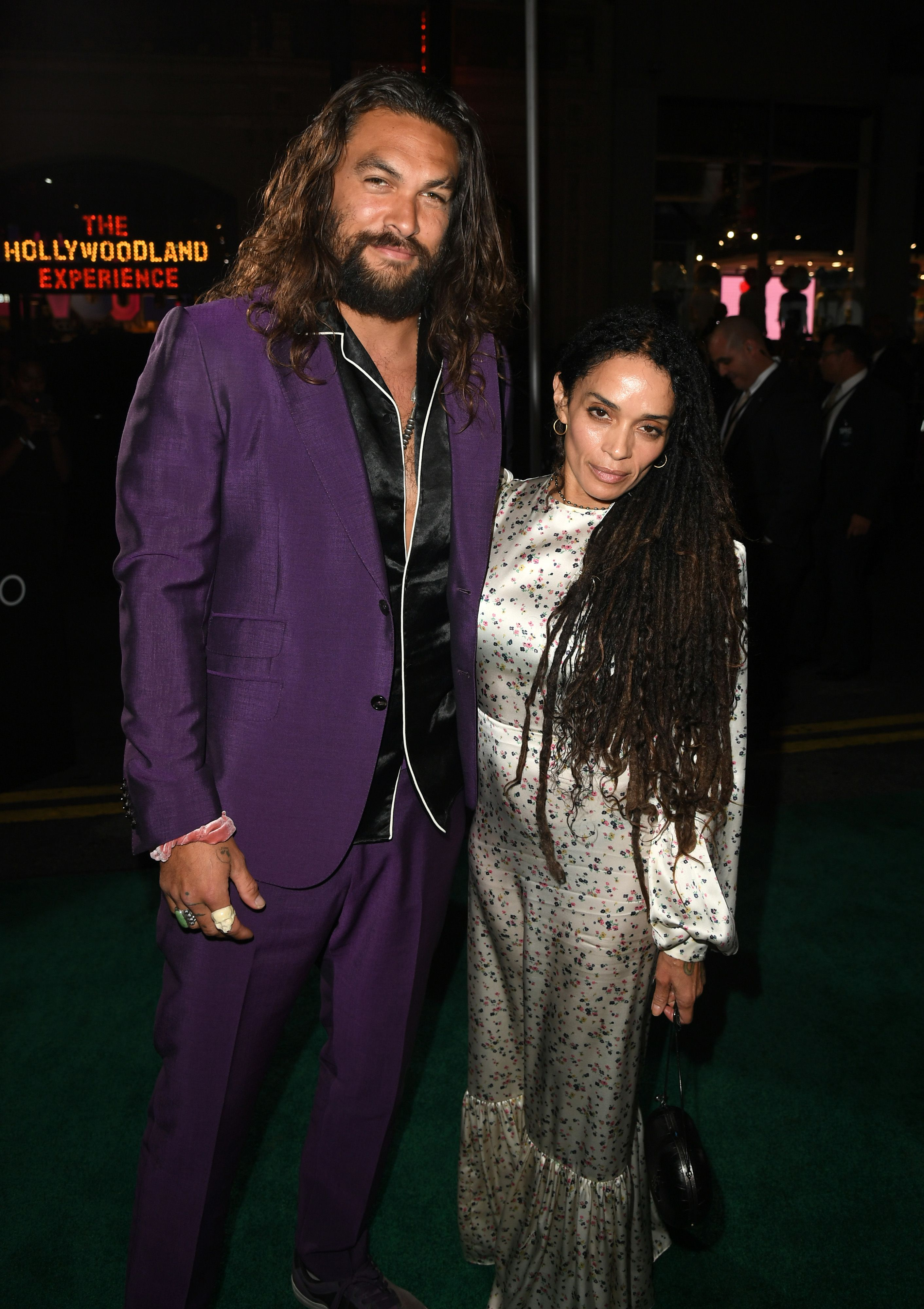 Jason Momoa and Lisa Bonet never parted since the moment they saw each other / Getty Images
