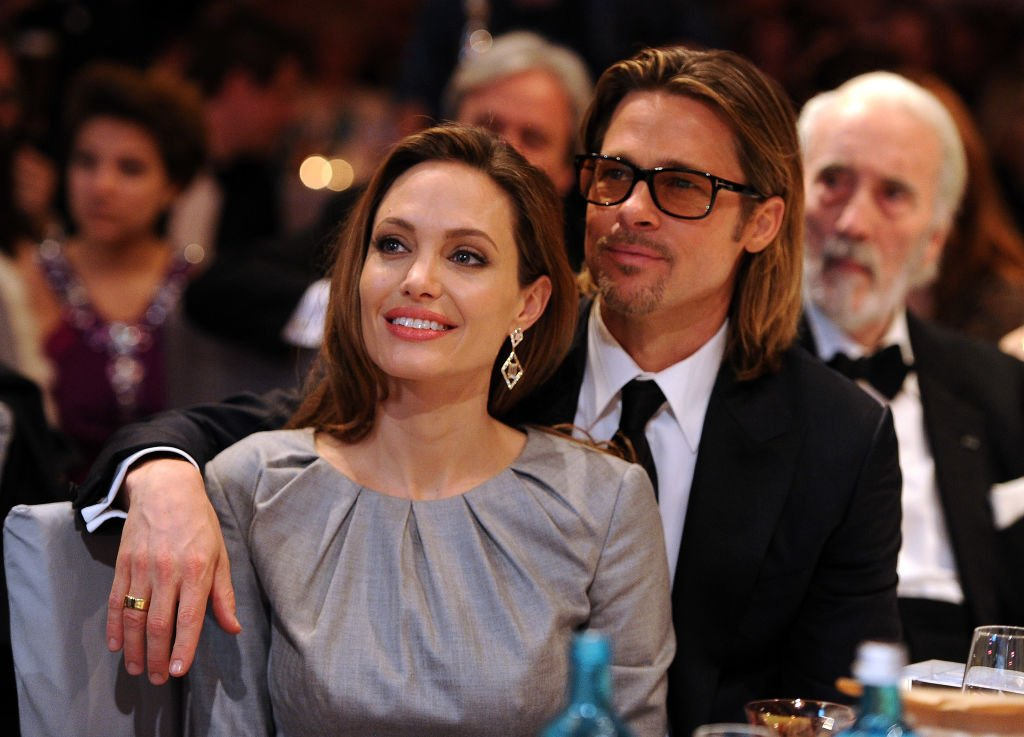 Image Credit: Getty Images/Getty Images for Cinema for Peace/Pascal Le Segretain | Angelina Jolie and Brad Pitt attend the Cinema for Peace Gala