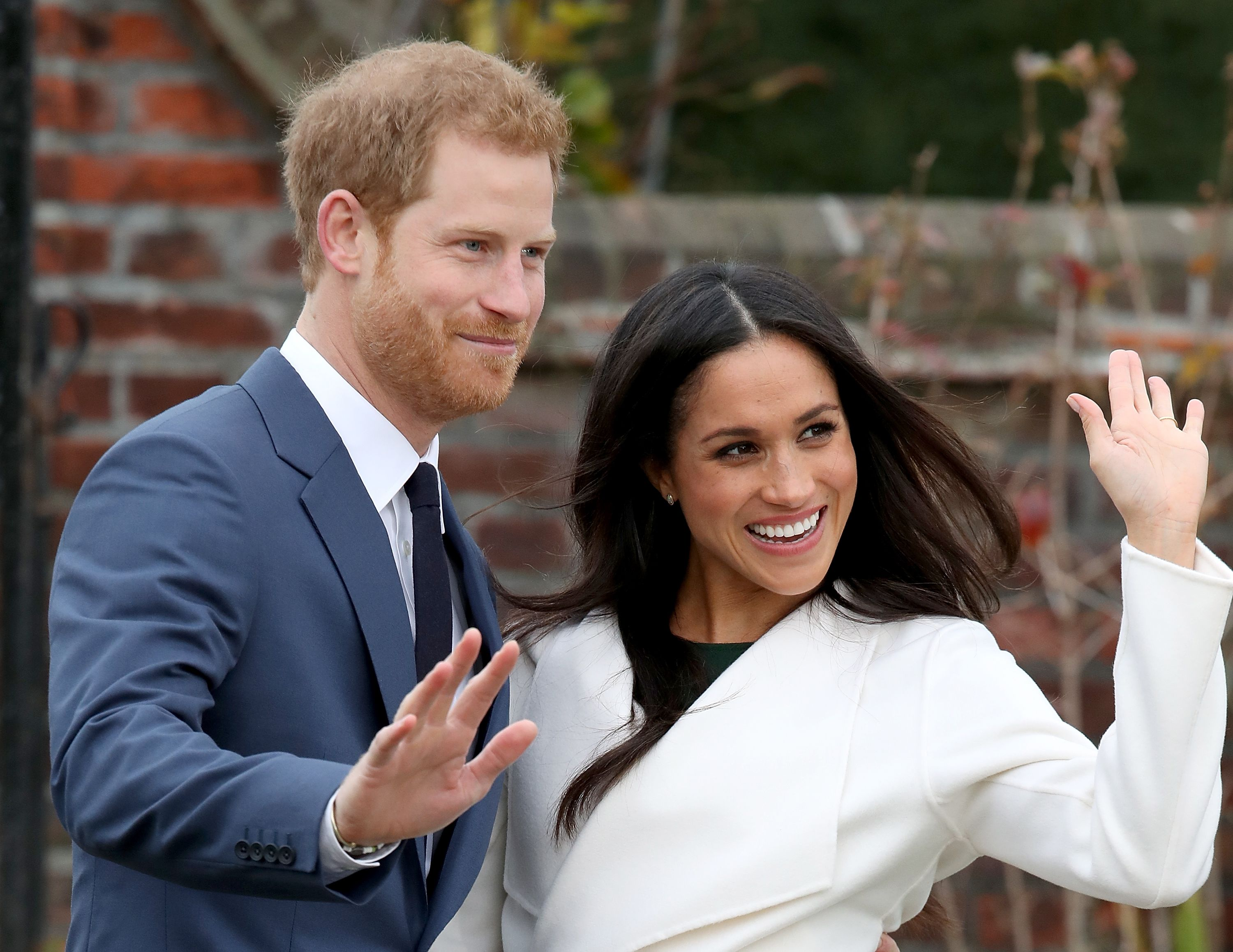 Prince Harry and Meghan Markle remain friendly to media / Getty Images