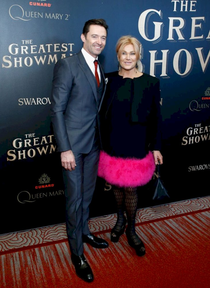 Image Credit: Getty Images / Deborra-lee Furness and Hugh Jackman attend an event.