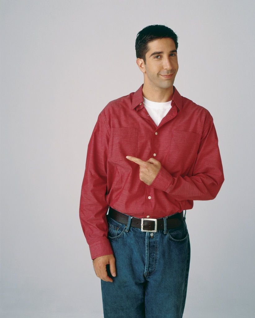 Ross Geller portrayed by David Schwimmer in Friends / Getty Images