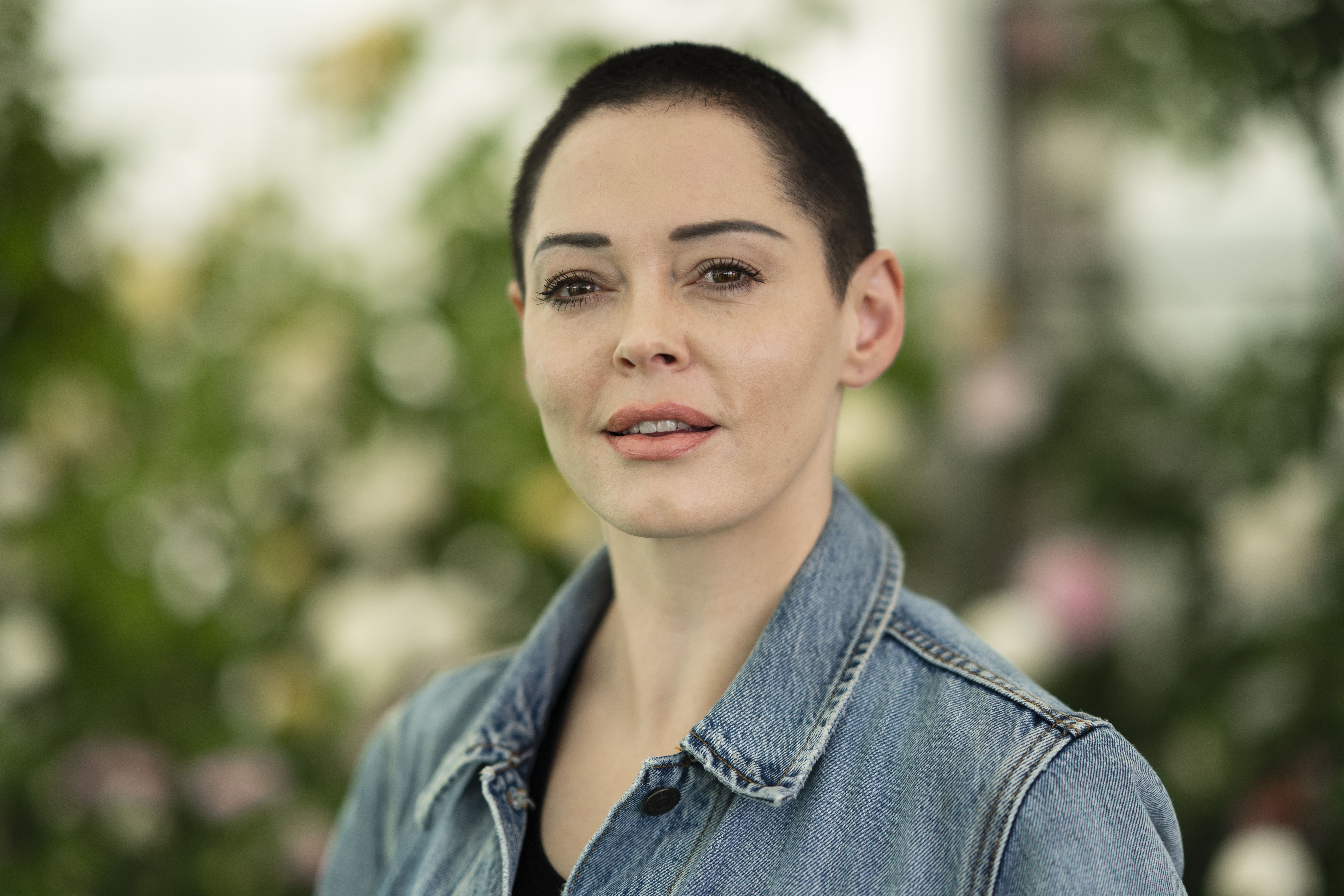 Image Credit: Getty Images / Rose McGowan, film-maker and author of 'Brave', at the Hay Festival on June 2, 2018 in Hay-on-Wye, Wales.