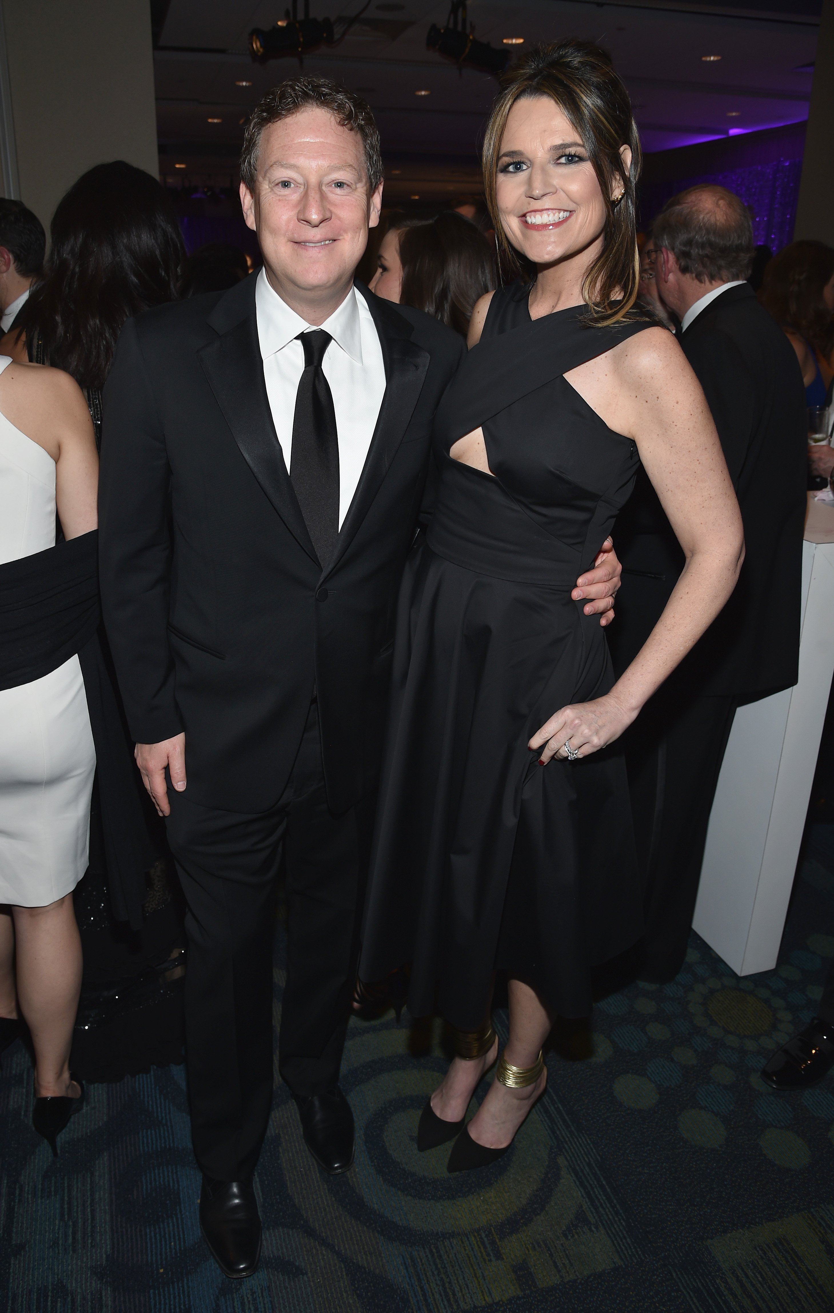 Image Credits: Getty Images | Savannah Guthrie with husband Mike Feldman