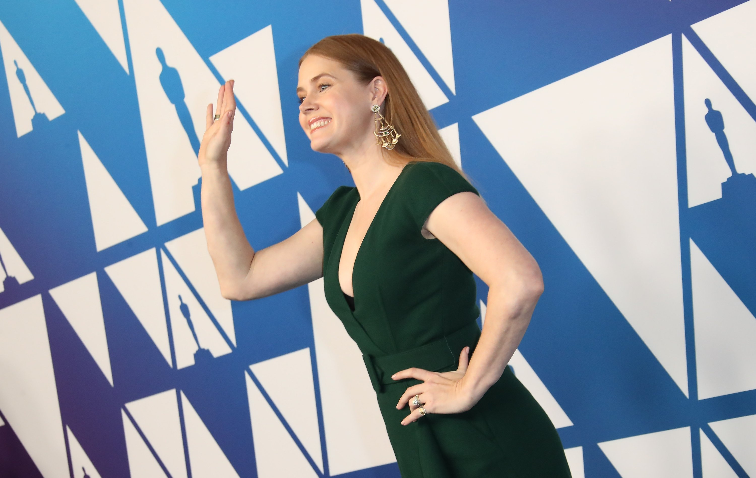 Image Credits: Getty Images | Amy Adams hopes aliens exist