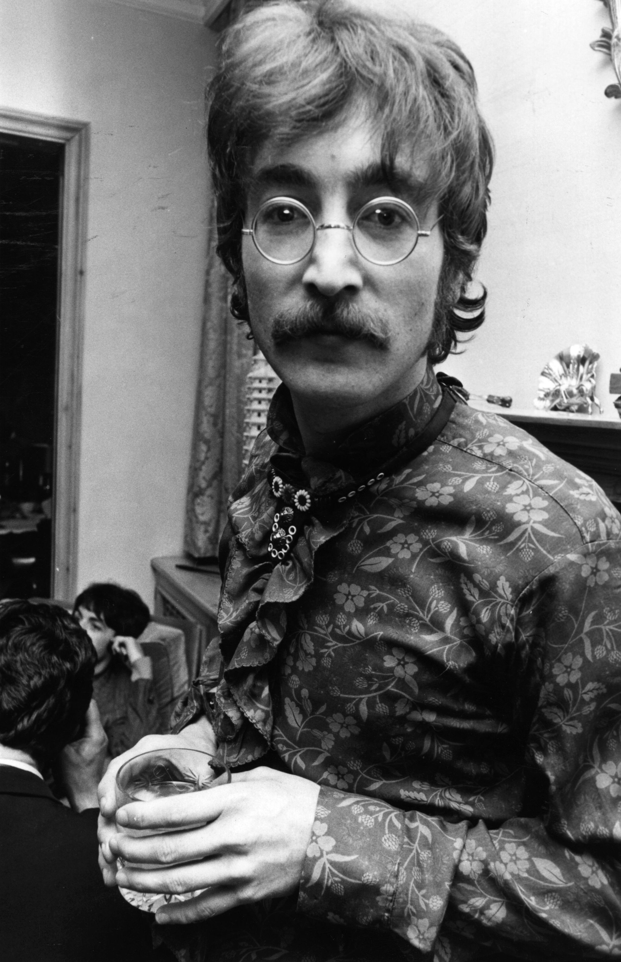 Image Credits: Getty Images / John Downing | Singer, guitarist and songwriter John Lennon (1940 - 1980) at manager Brian Epstein's west London home for a photocall for the launch of the Beatles' new album 'Sergeant Pepper's Lonely Hearts Club Band', 19th May 1967.