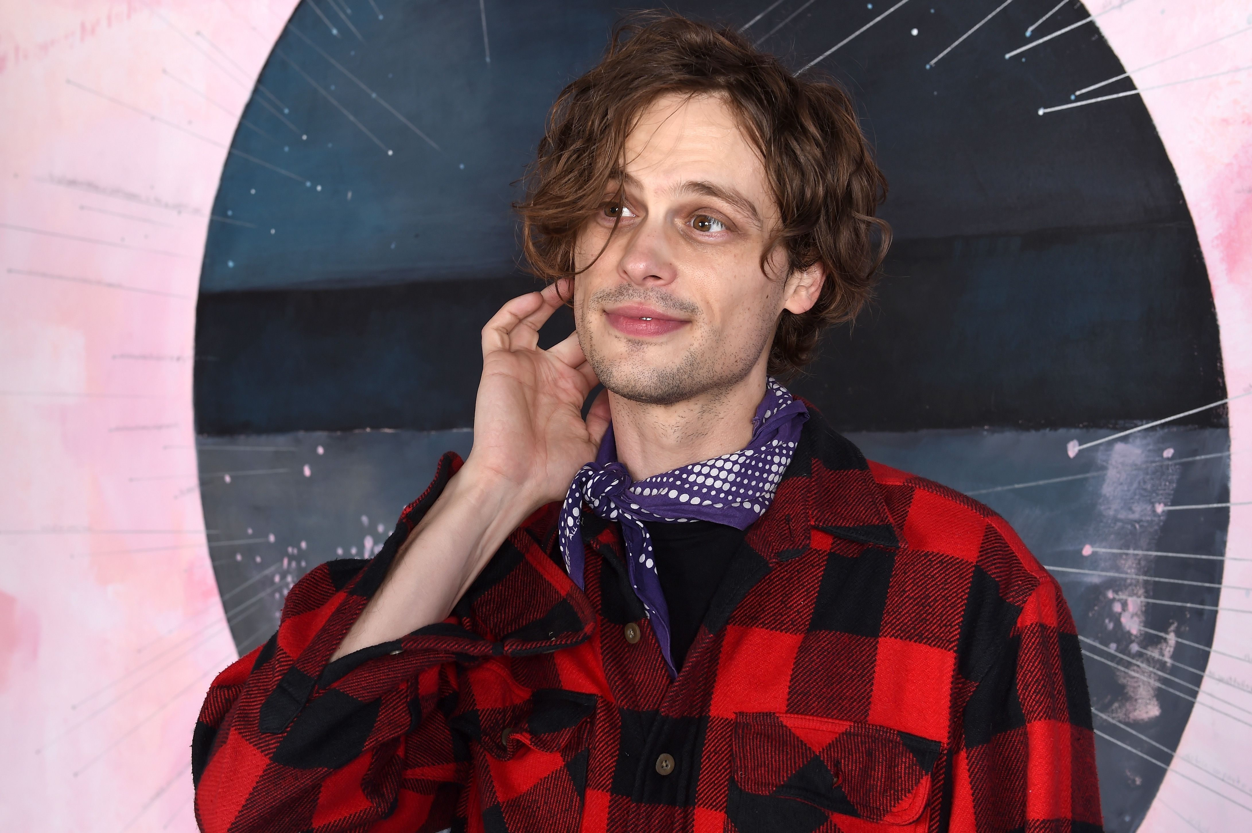 Matthew Gray Gubler hosted the Goobie Awards for his friends / Getty Images