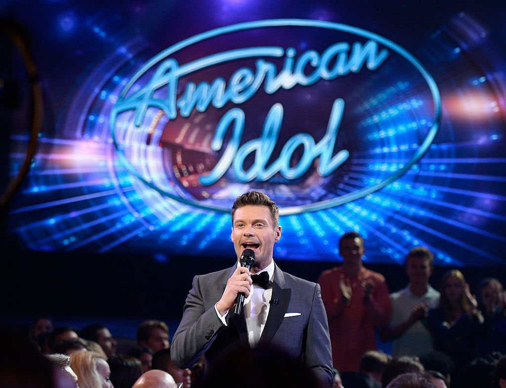 Image Source: Getty Images/Kevork Djansezian | Ryan Seacrest at the Farewell Season of American Idol