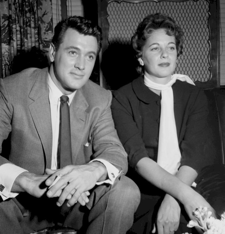 Image Credit: Getty Images/Michael Ochs Archives/Earl Leaf |Rock Hudson and Phyllis Gates