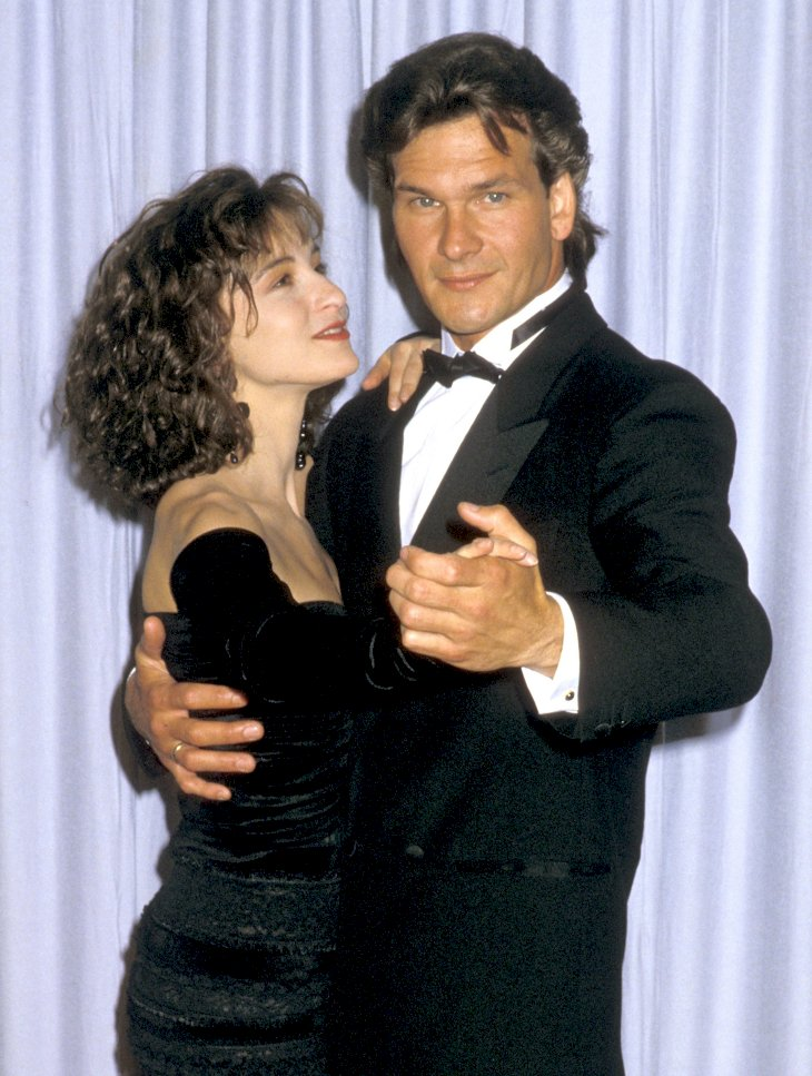 Jennifer Grey and Patrick Swayze attend the 60th Annual Academy Awards / Photo:Getty Images