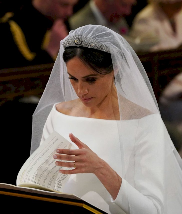 Image Credit: Getty Images / Meghan Markle on her wedding day.
