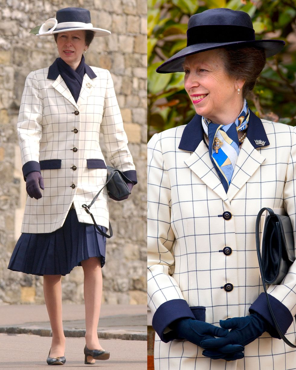 Image Credit: Getty Images/Mark Cuthbert - Getty Images/Indigo | The lovely Princess Anne is photographed by the media.