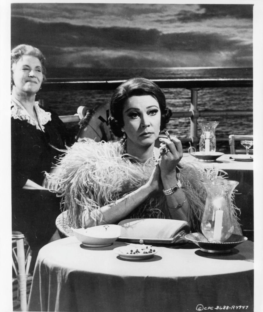 "Image Credits: Getty Images / Columbia Pictures | Vivien Leigh in a scene from ""Ship of Fools"""