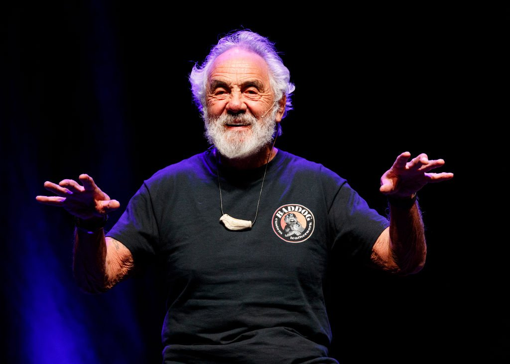 Image Credit: Getty Images / Comedian Tommy Chong speaks on stage during Cheech & Chong 'O Cannabis Tour' at Abbotsford Centre on October 10, 2019 in Abbotsford, Canada.