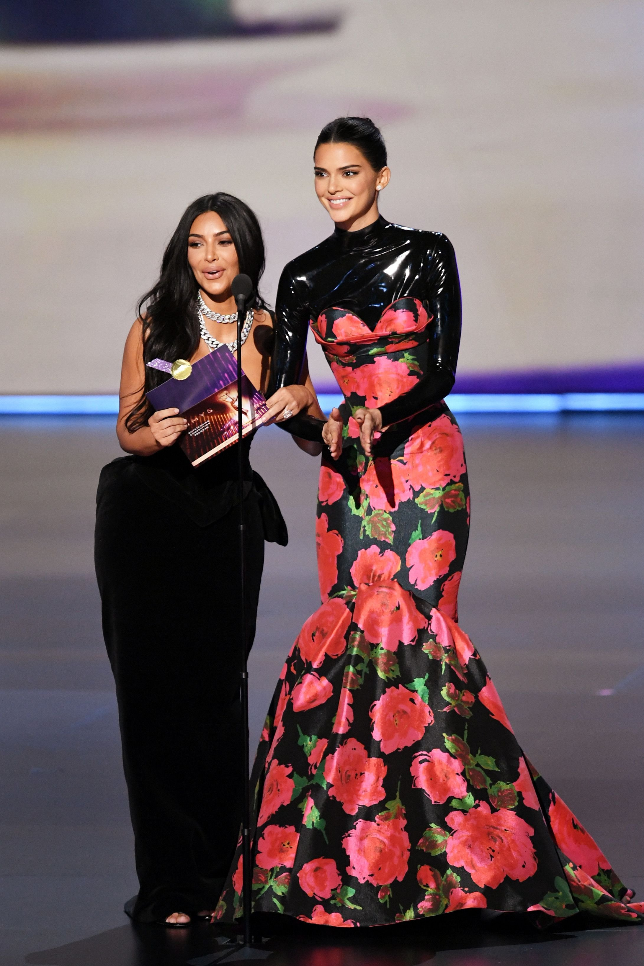 Kim Kardashian and Kendall Genner / Getty Images
