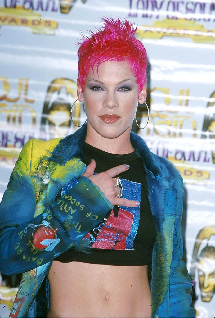 Image Credits: Getty Images / SGranitz / WireImage | Pink in September 2000.