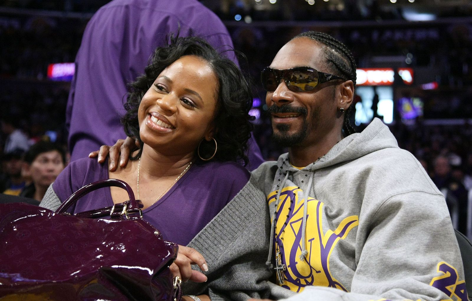 Snoop Dogg and Shante Broadus/Photo:Getty Images