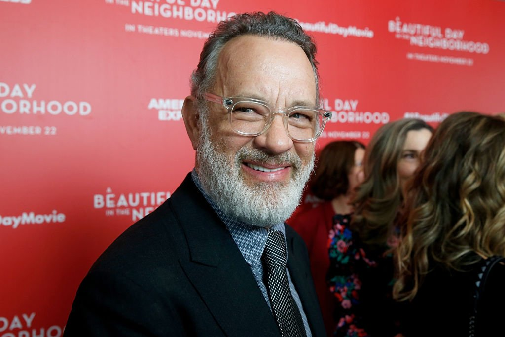 "Image Credits: Getty Images / Dominik Bindl / FilmMagic | Tom Hanks attends ""A Beautiful Day In The Neighborhood"" New York Screening at Henry R. Luce Auditorium at Brookfield Place on November 17, 2019 in New York City."