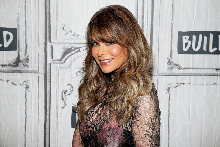 Image Credit: Getty Images / Paula Abdul on the red carpet.