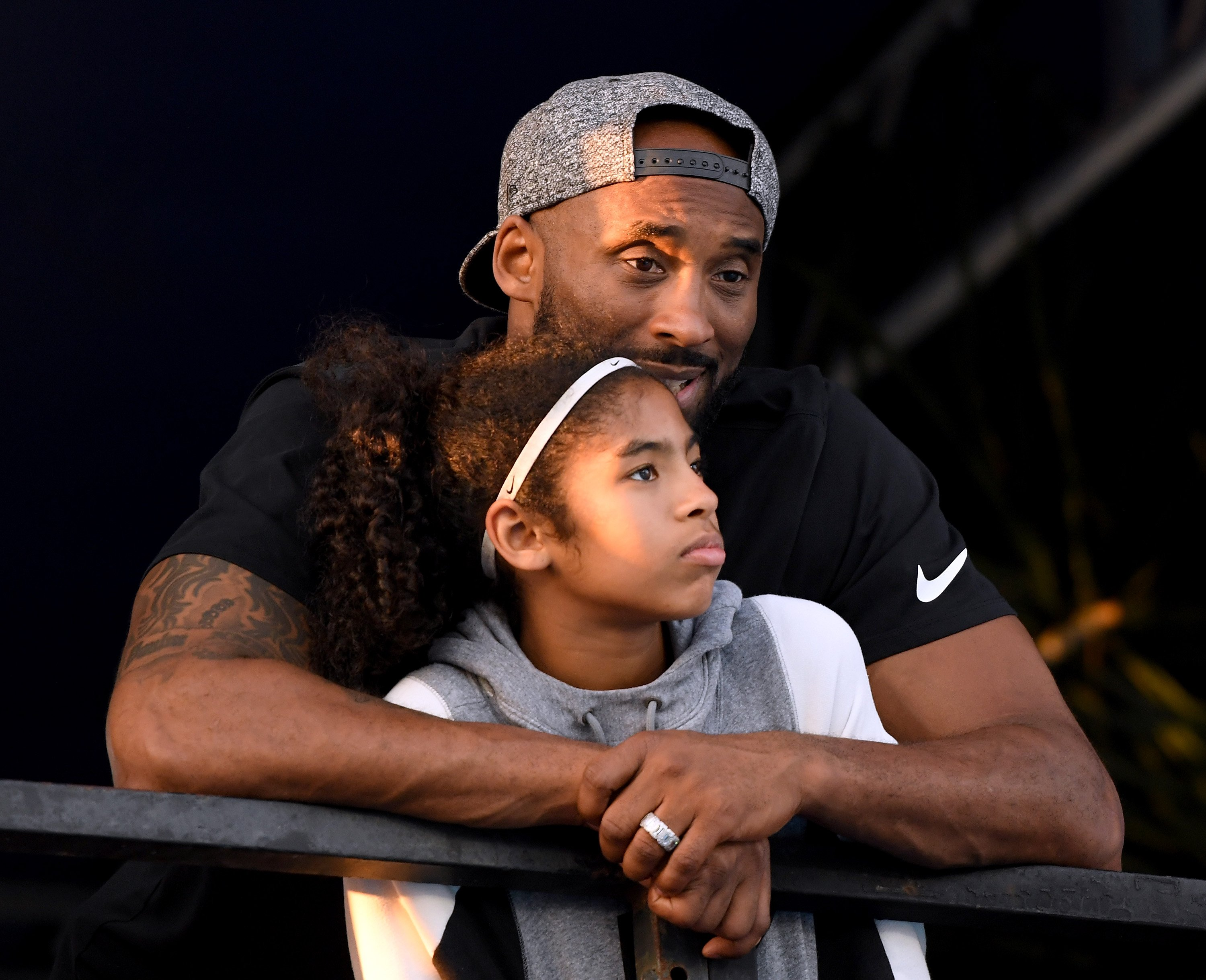 Image Source: Getty Images/Kobe Bryant and his daughter Gigi