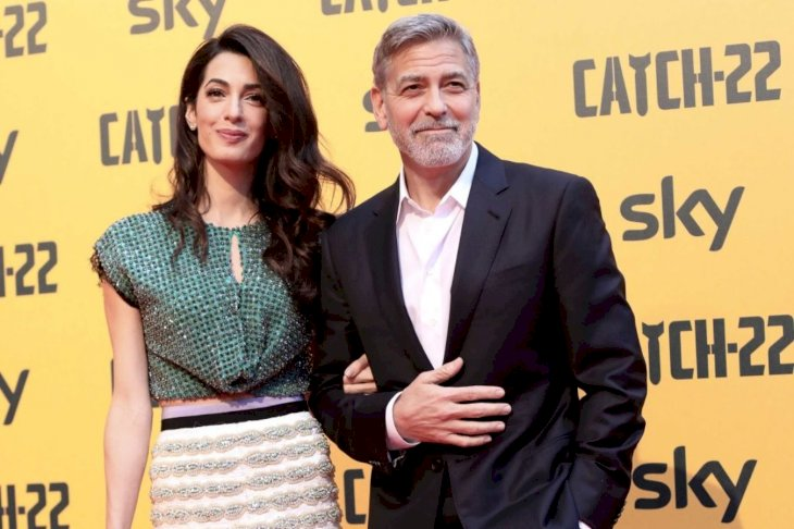Image Credit: Getty Images/Franco Origlia | George Clooney Amal Alamuddin 2019