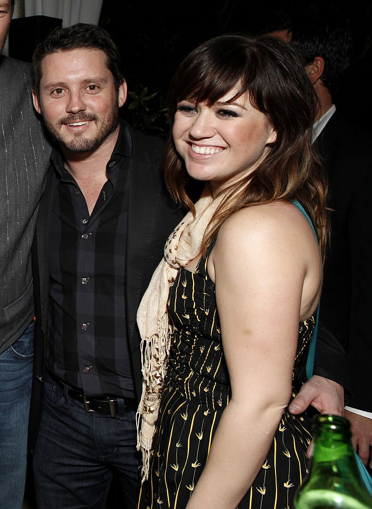 Image Credits: Getty Images / Todd Williamson | Brandon Blackstock and Kelly Clarkson in 2012
