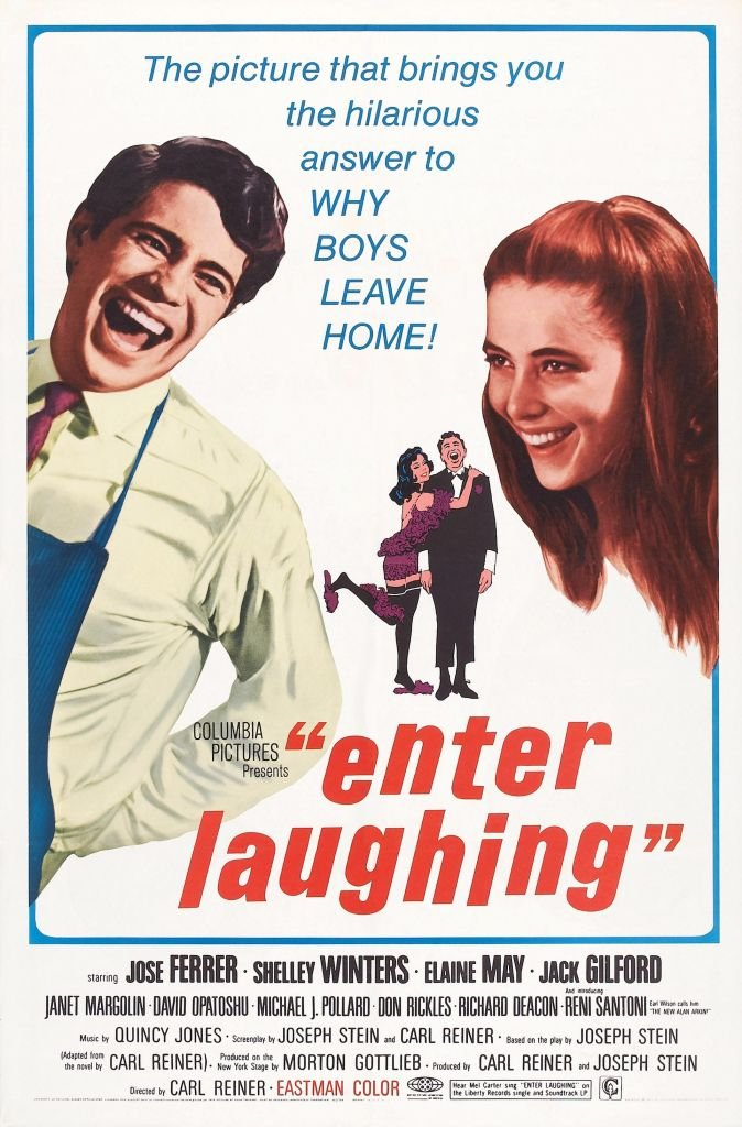 Image Credits: Getty Images / LMPC | Enter Laughing, poster, US poster, from left: Reni Santoni, Janet Margolin, 1967.