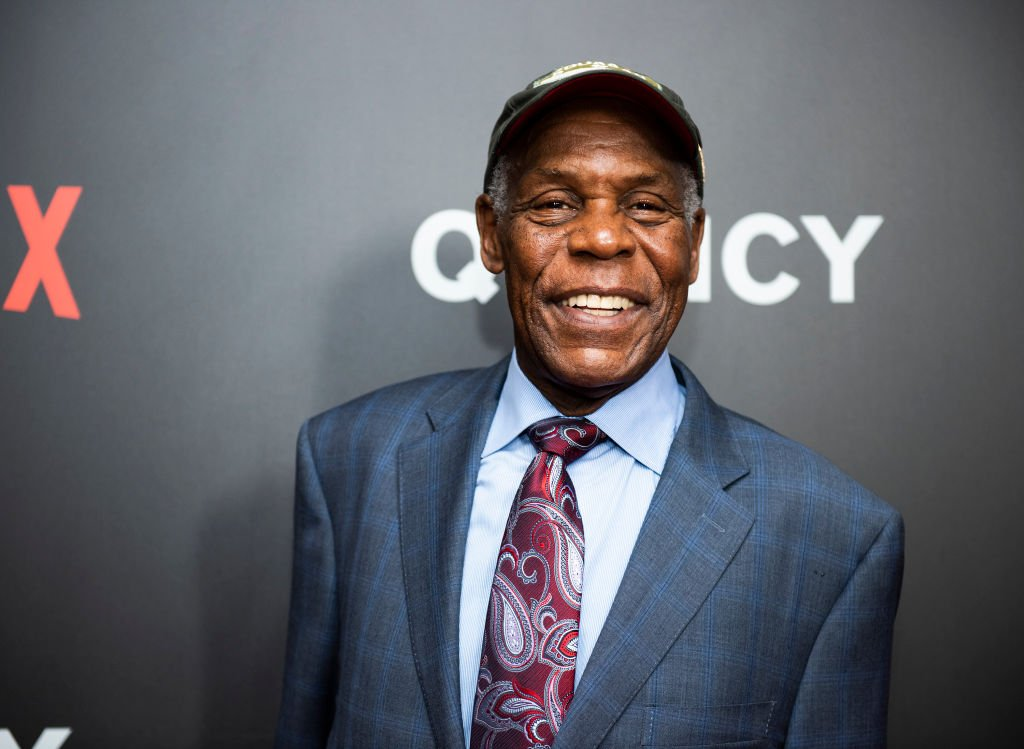 "Image Source: Getty Images/Jenny Anderson| Danny Glover attends Netflix premiere of ""Quincy"" at Museum of Modern Art on September 12, 2018 in New York City"