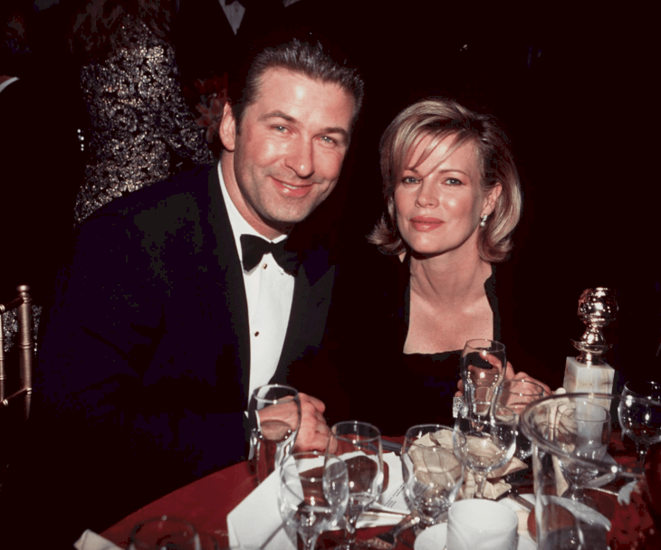 Image Source: Getty Images / Alec Baldwin with his former wife, Kim Basinger.