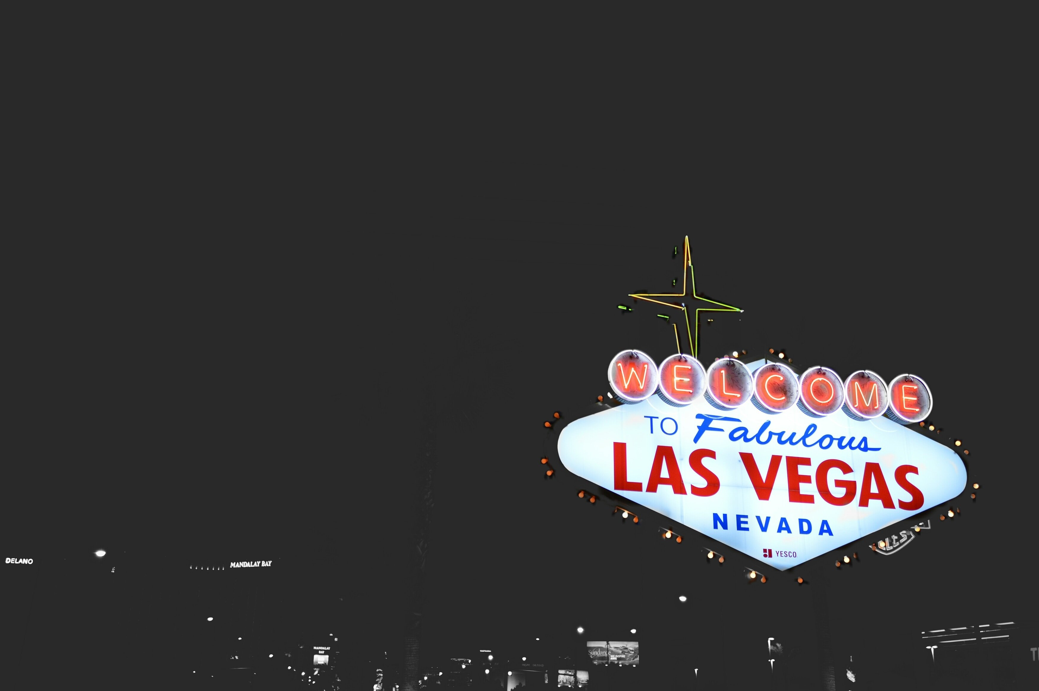 A sign from Vegas | Unsplash