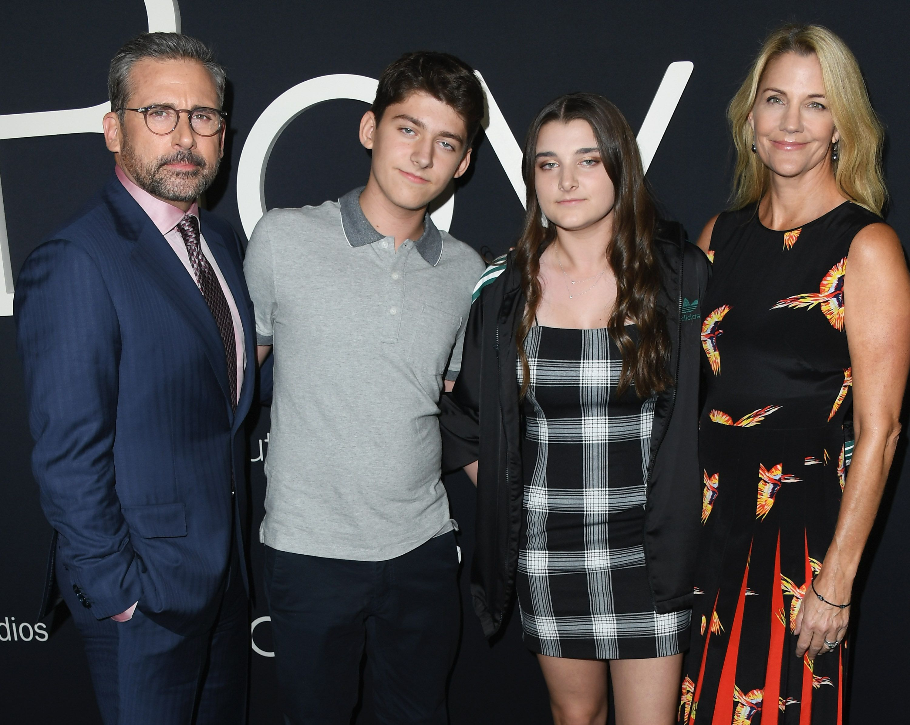 Steve Carell, John Carell, Elisabeth Anne Carell and Nancy Carell attend Amazon Studios of Angeles / Getty Images