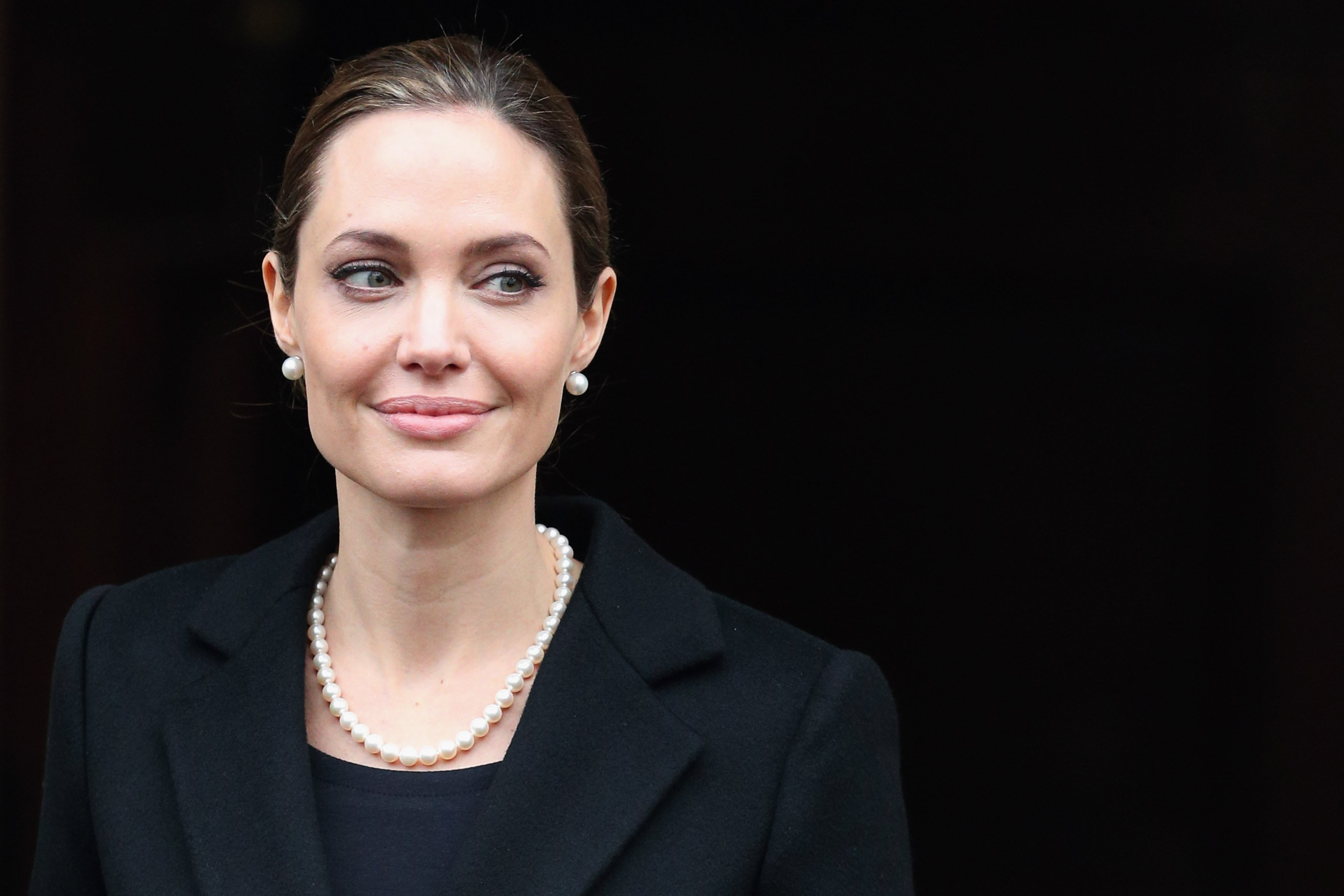 Image Credit: Getty Images/WireImage/Danny Martindale | Jolie at the G3 Summit in 2013
