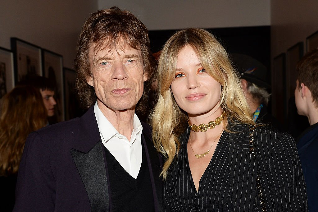 Image Source: Getty Images/Dave J Hogan/Mick Jagger (L) with daughter Georgia May Jagger during an after party for 'The Rolling Stones: Exhibitionism' at Saatchi Gallery on April 4, 2016 in London, England