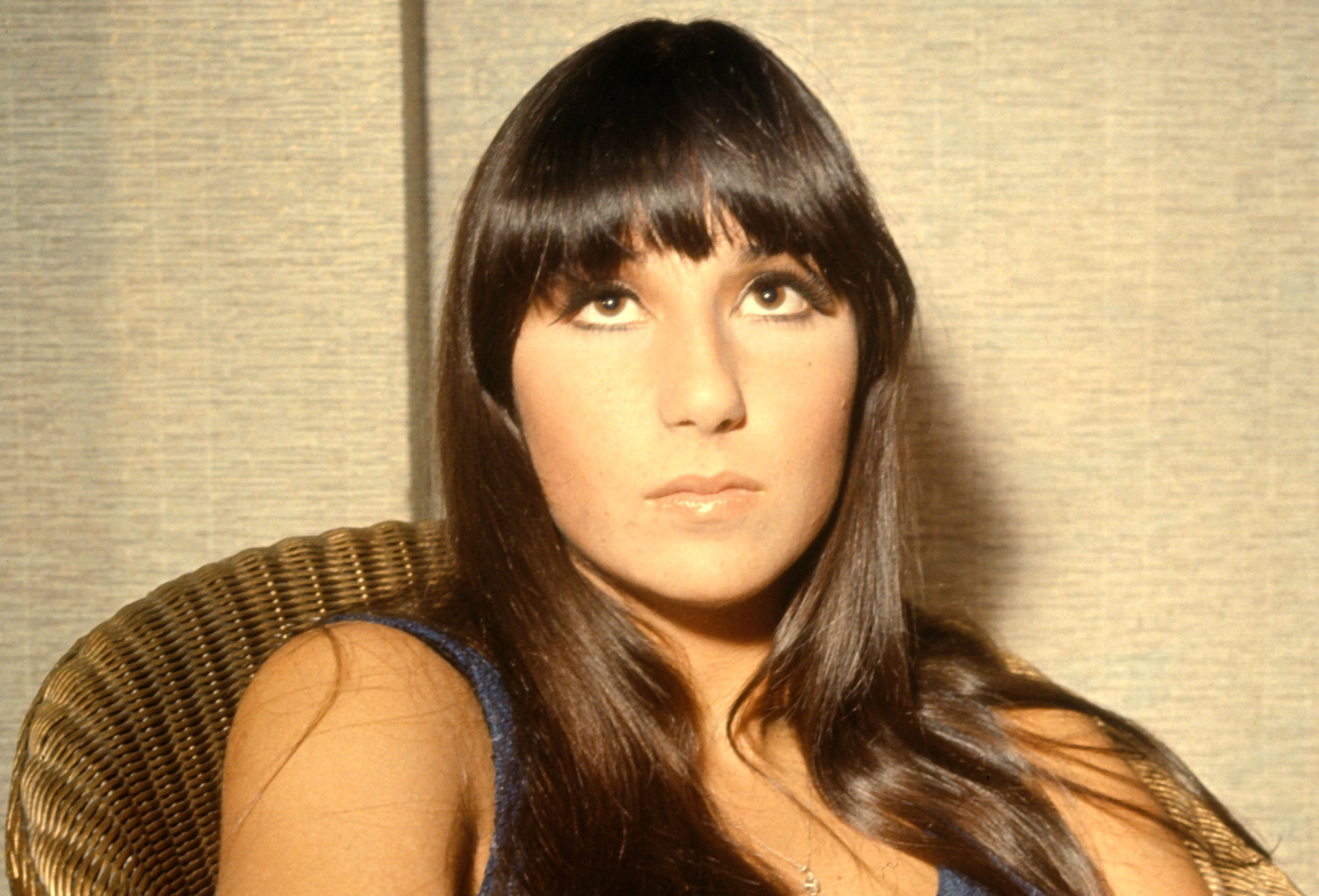 Image Source: Getty Images/Cher as a young woman