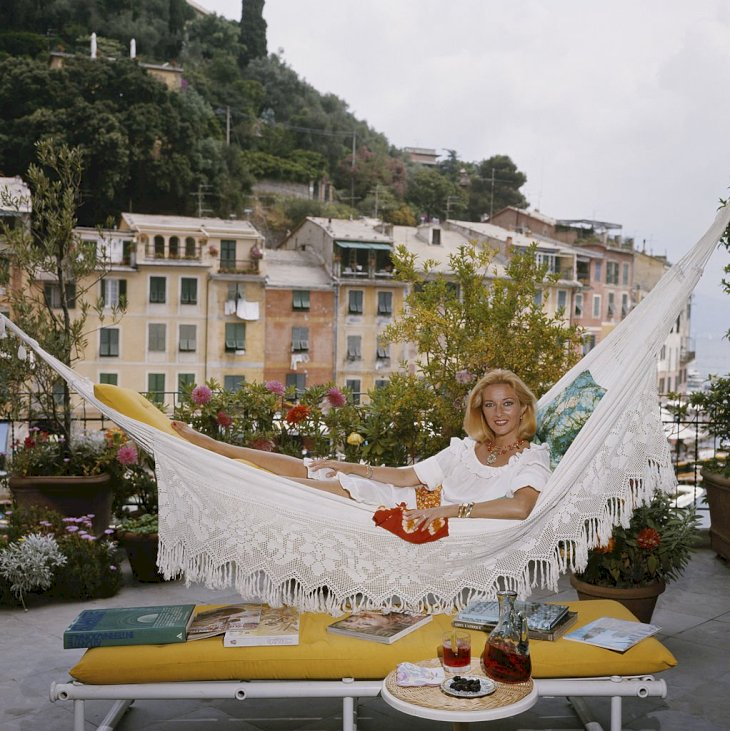Image Credit: Getty Images / Daniela Bianchi on a hammock.