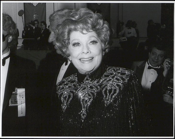 Image Credit: Getty Images / Lucille Ball at the Shrine Auditorium in Los Angeles, California in 1989.