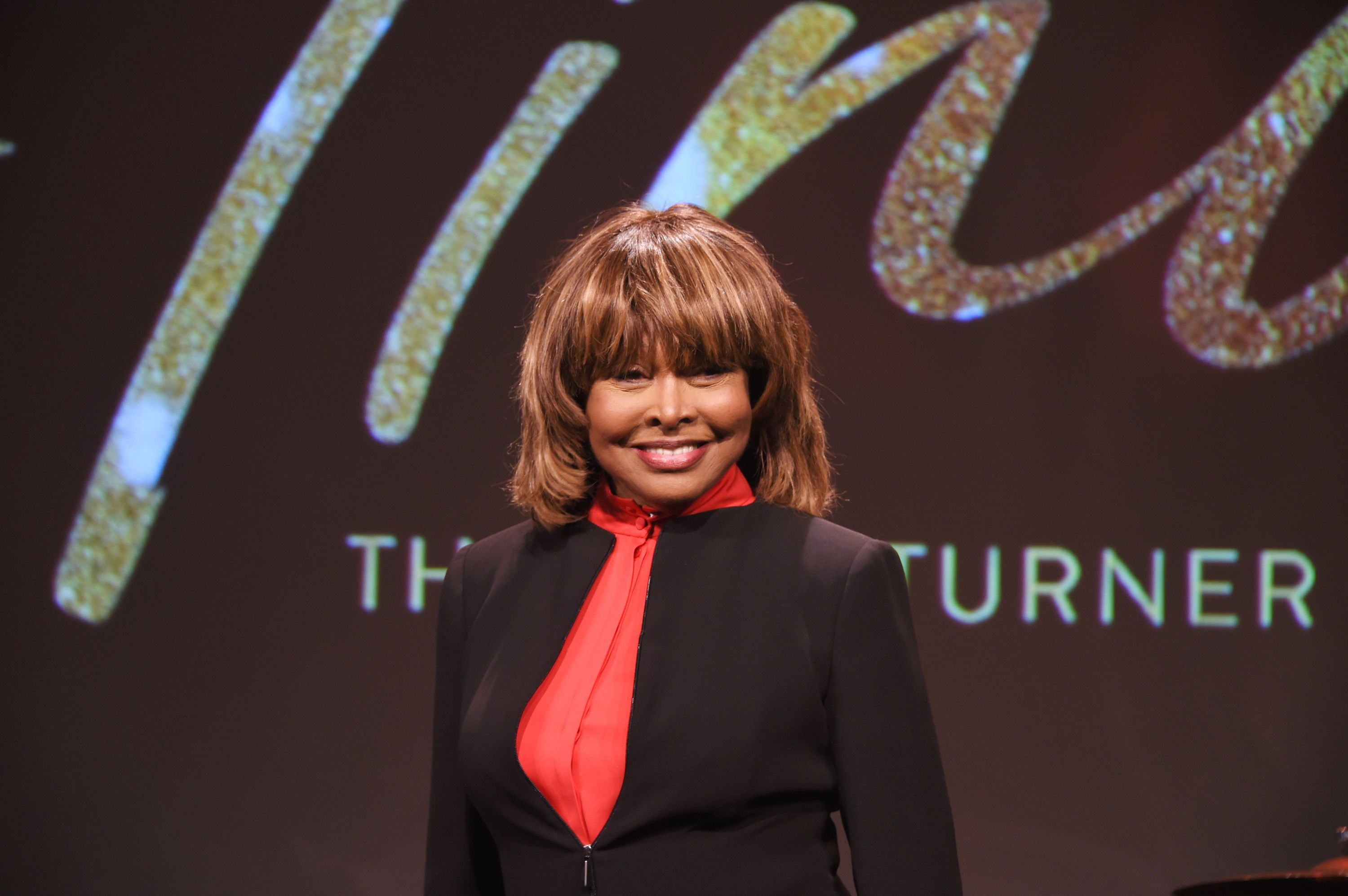 "Tina Turner poses at a photocall for ""Tina: The Tina Turner Musical"" at The Hospital Club, 2017/Photo:Getty Images"